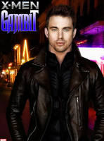 Channing Tatum as Gambit by Valor1387