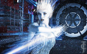 Danielle Panabaker is Killer Frost by Valor1387