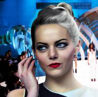 Emma Stone as Cruella De Vil by Valor1387