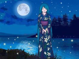 Natsu no Yuri by ReevScythe