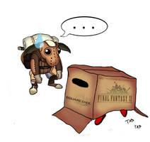 MGF - Cardboard Box by ReevScythe