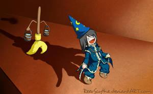 Sorcerer's Apprentice Cyan by ReevScythe