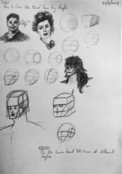 Proko: How to Draw the Head From Any Angle by StettafireZero