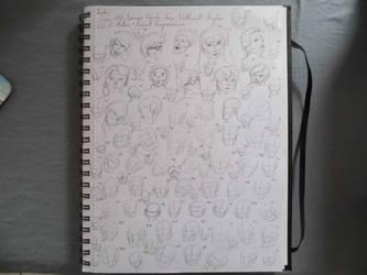 100 Loomis Heads by StettafireZero