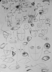 Proko: How to Draw Eyes - Structure by StettafireZero