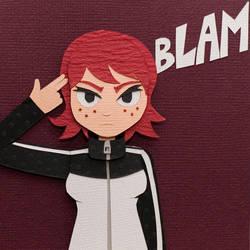 BLAM by PlaidCushion