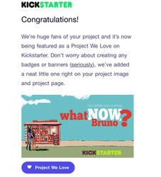 Kickstarter - Project we love by bbrunoliveira