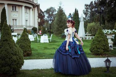 Victorian princess bride by MalwinaD