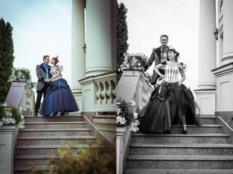 Victorian wedding by MalwinaD