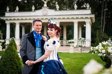 Victorian romantic wedding by MalwinaD