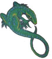 Lizard Tattoo by ryanpm