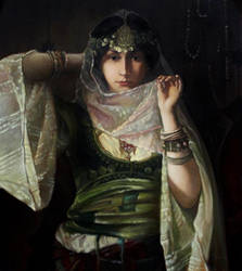 eastern girl by AndriyMarkiv