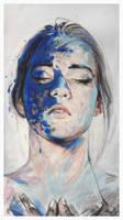 girl.acrylic.charcoal by AndriyMarkiv