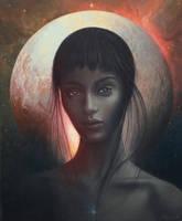 Girl from Pluto by AndriyMarkiv