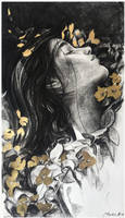 gold flowers by AndriyMarkiv