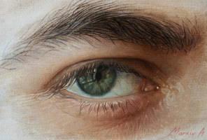 my eye by AndriyMarkiv