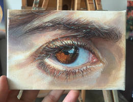 women eye by AndriyMarkiv