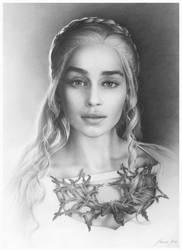 Daenerys Targaryen by AndriyMarkiv