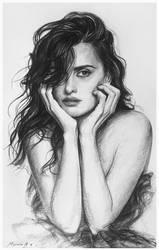 Penelope Cruz by AndriyMarkiv
