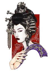 GEISHA OF THE BONES by Zoe-Lacchei