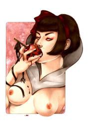 Snow White by Zoe-Lacchei