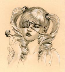 Eyeball Lollipop by Zoe-Lacchei
