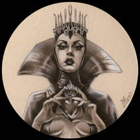 The queen by Zoe-Lacchei