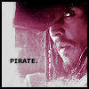 Pirate. by MsVilleValo