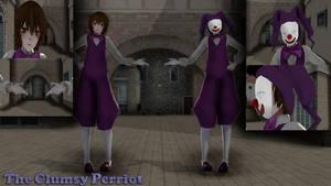 Pierrot- The Clumsy Pierrot Model by Allena-Frost-Walker