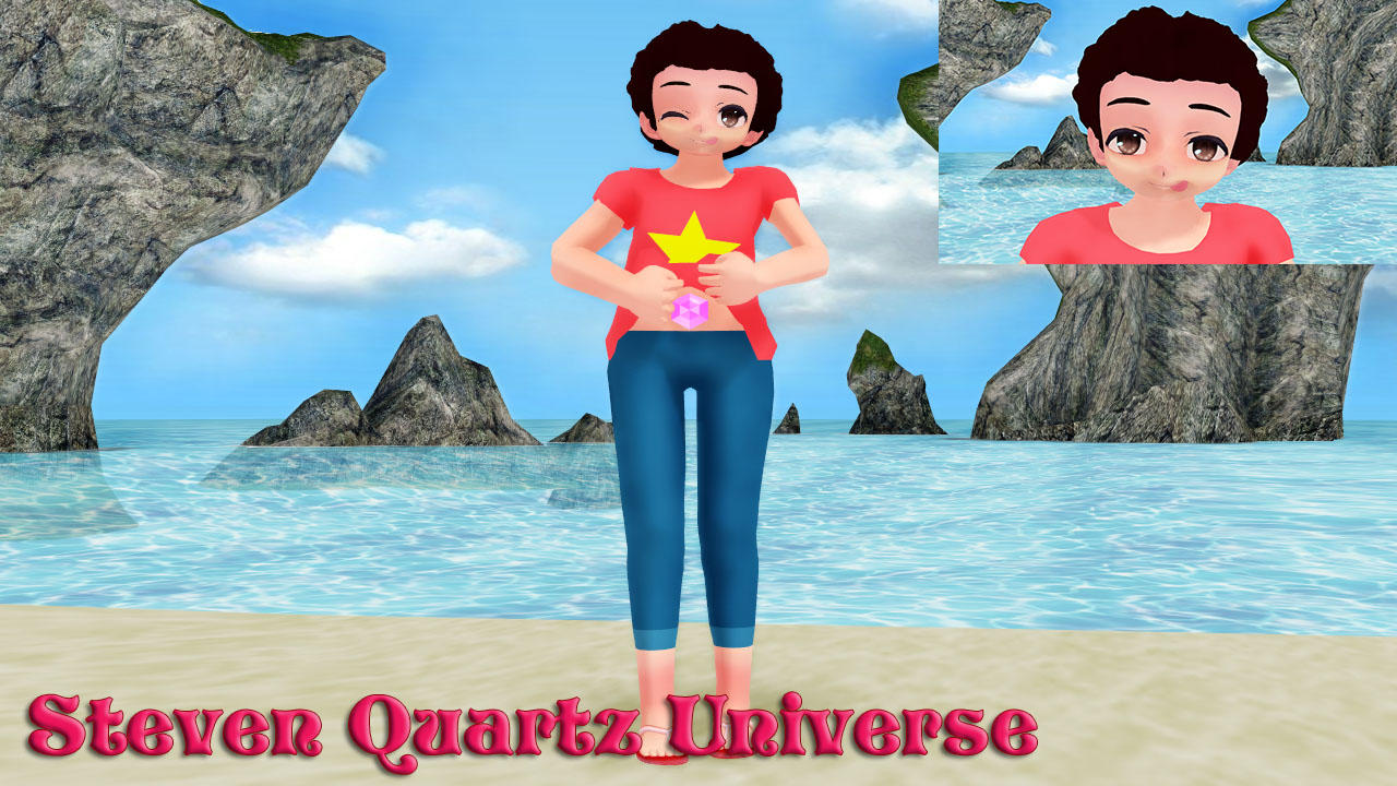 Steven Quartz Universe MMD Model DL by Allena-Frost-Walker