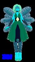 Steven Universe-Lapidot Fusion MMD Model DL by Allena-Frost-Walker