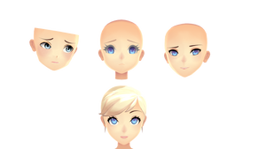 Quick Face Edits  by Allena-Frost-Walker