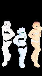 Monster Girl Bases DL by Allena-Frost-Walker