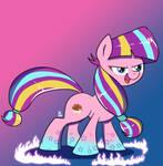 Rainbow Power Longsocks by FeralRoku