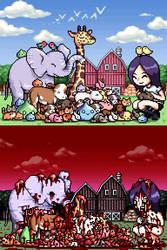 Kinuko's Farm by probertson
