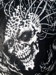 Boneheaded inks by 4RN13