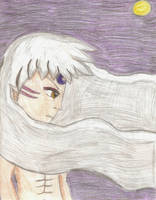 Sesshy In The Moonlight by Kaykayiscrazy