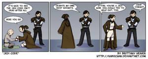 KotOR II - Jedi Code by KabochaN