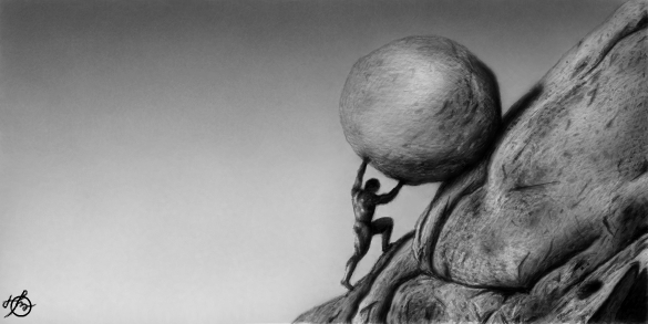 Sisyphus by OV-art