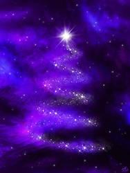 Space Christmas tree by OV-art
