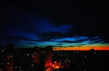 Night city by OV-art
