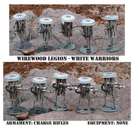 Wirewood: White Warriors by MisterMustafarandi