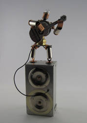 Portable Stereo by MisterMustafarandi