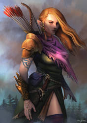 Mirkwood Archer by bakarov