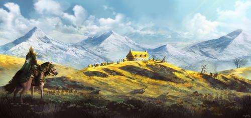 Edoras by bakarov