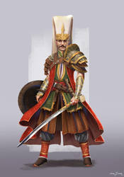 Ottoman Wars - Janissary by bakarov