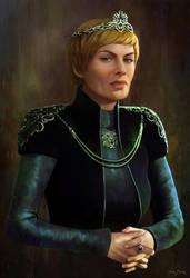 Cersei Lannister by bakarov
