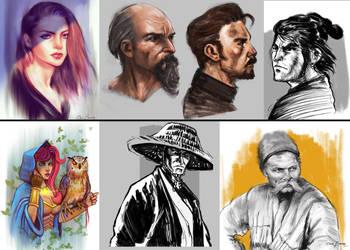 Sketches by bakarov