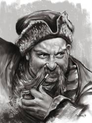 'Zaporozhian Cossacks' by bakarov