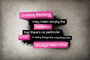 Creative Thinking by daveycoleman